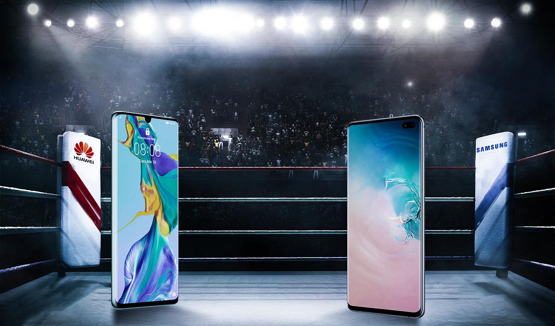 Încleștarea titanilor: Huawei P30 Pro vs. Samsung Galaxy S10 Plus