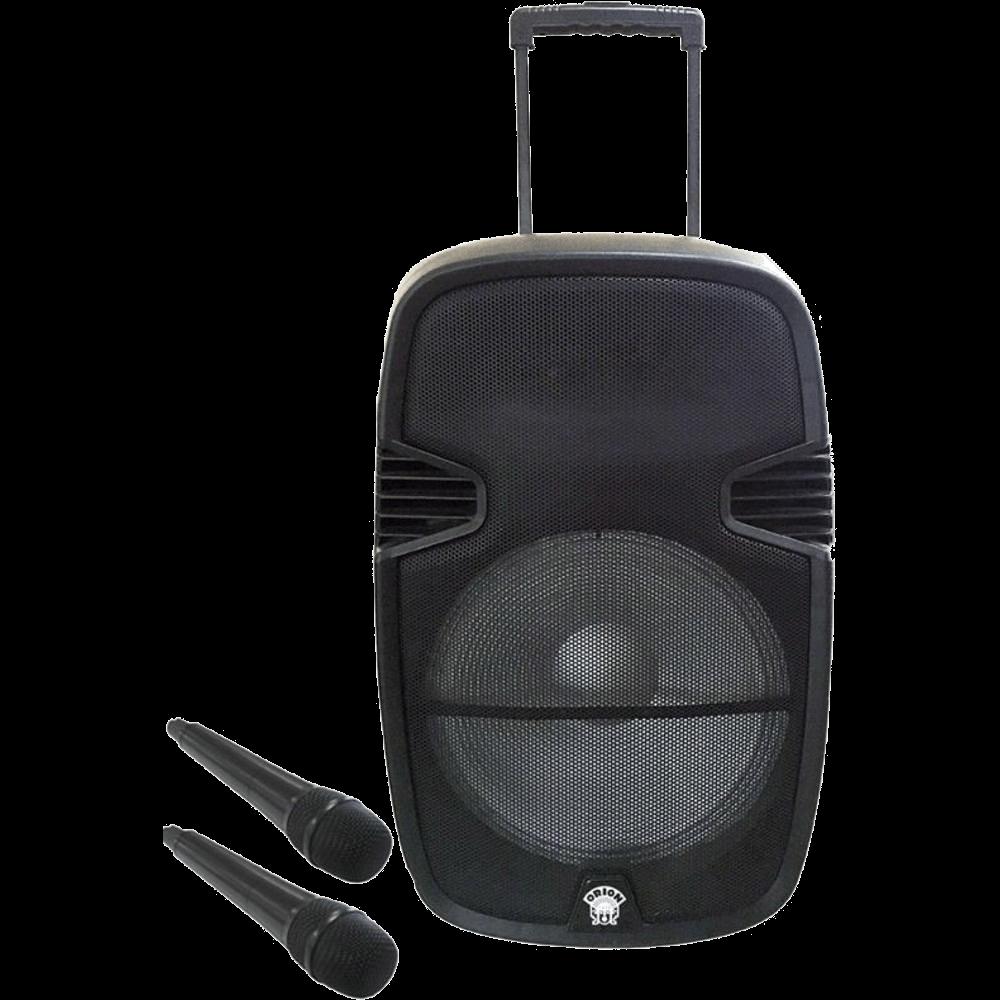 Boxa portabila Orion OBTS-1715, 80W, Bluetooth, 2 microfoane