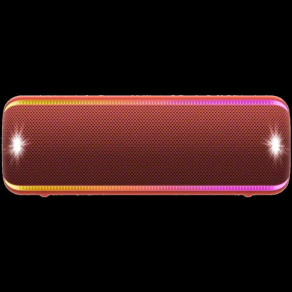 Boxa portabila Sony SRS-XB32R, Extra Bass, NFC, Bluetooth, Rosu