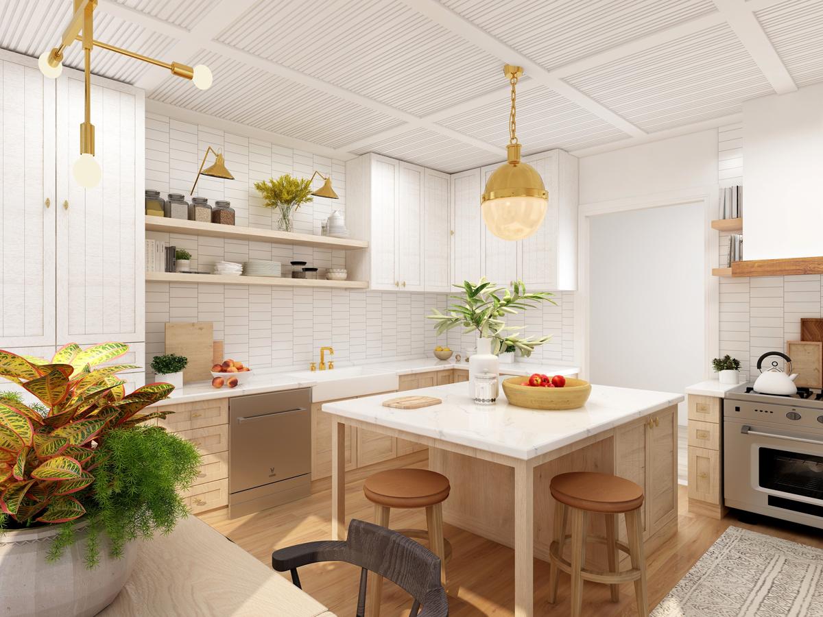 Top idei smart pentru amenajarea bucătăriilor mici și înguste