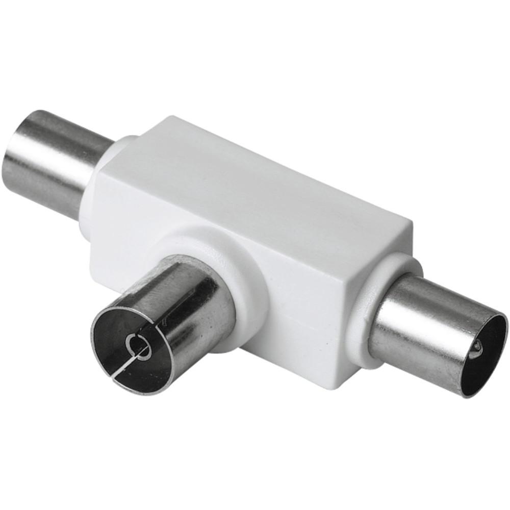 Adaptor Hama 122471 Coaxial - 2 x Coaxial