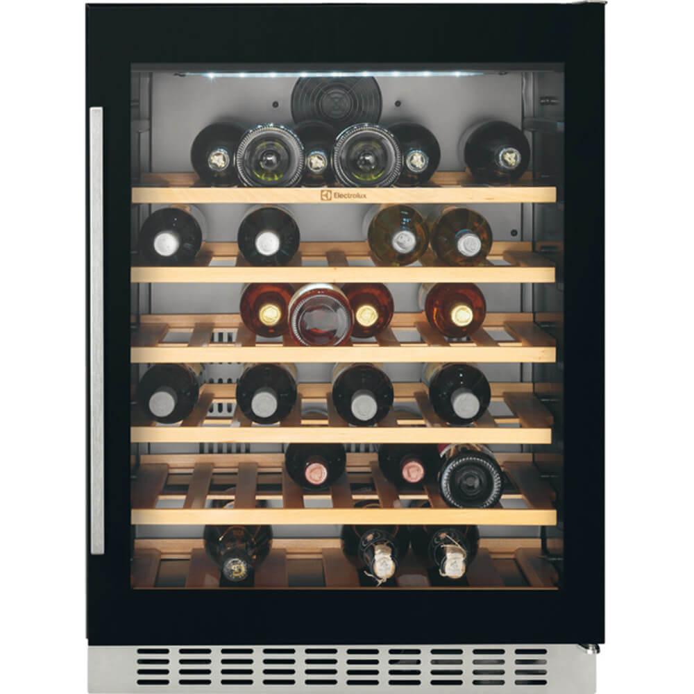 Racitor de vinuri incorporabil Electrolux ERW1573AOA, 138 l, Clasa G, (clasificare energetica veche Clasa  A)