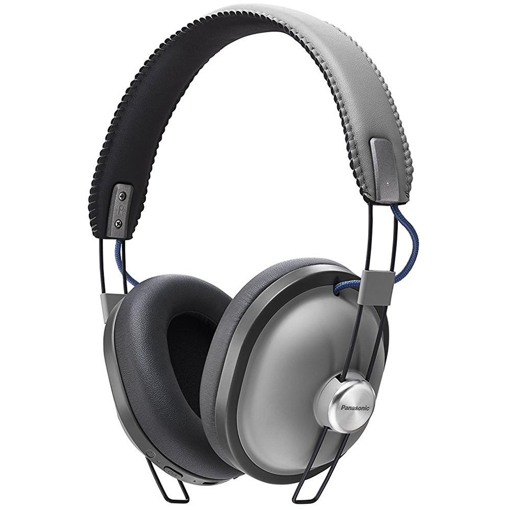 Casti Audio On-ear Panasonic Rp-htx80be-h, Microfon, Gri