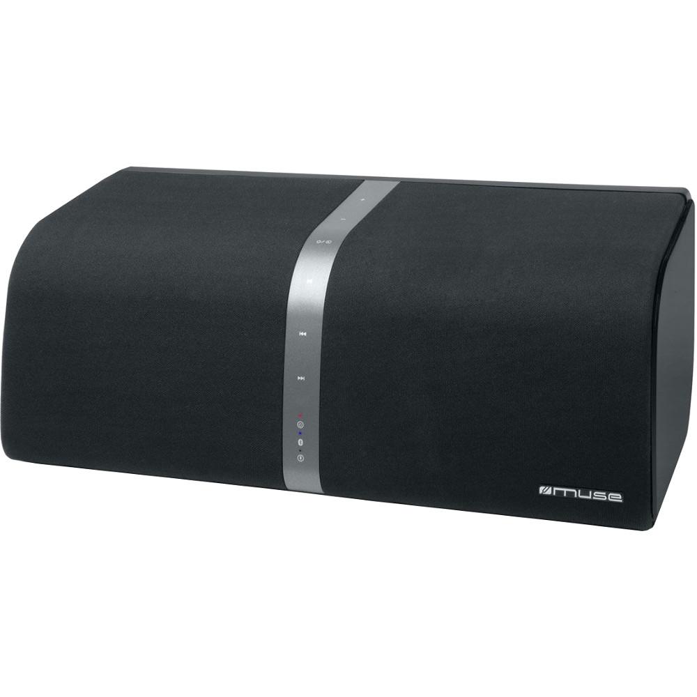 Boxa Bluetooth Muse M-800 BT, 2 x 10W, AUX-in, USB-out, Telecomanda, Negru