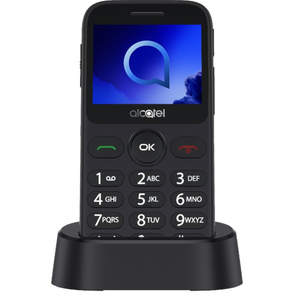 Telefon Mobil Alcatel 2019, Single Sim, Metallic Silver