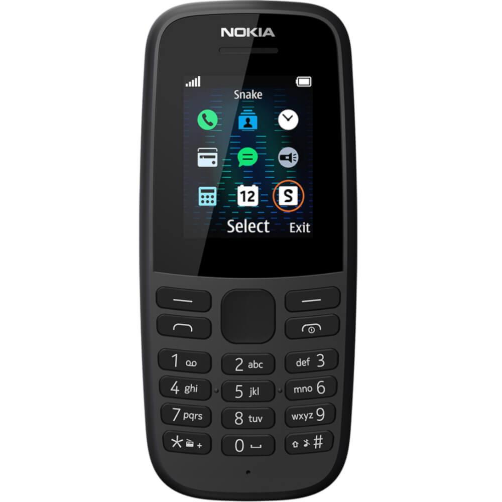Telefon Mobil Nokia 105 (2019),dual Sim, Negru