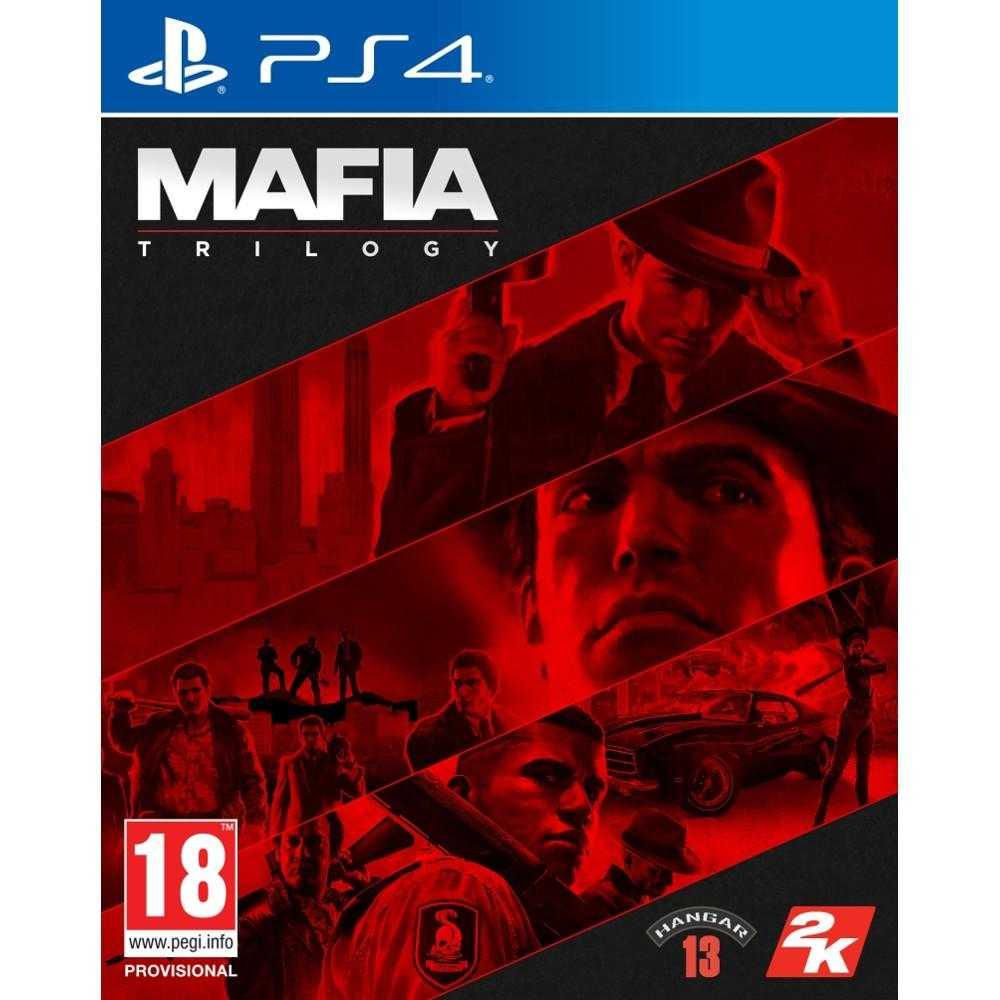 Joc Ps4 Mafia Trilogy