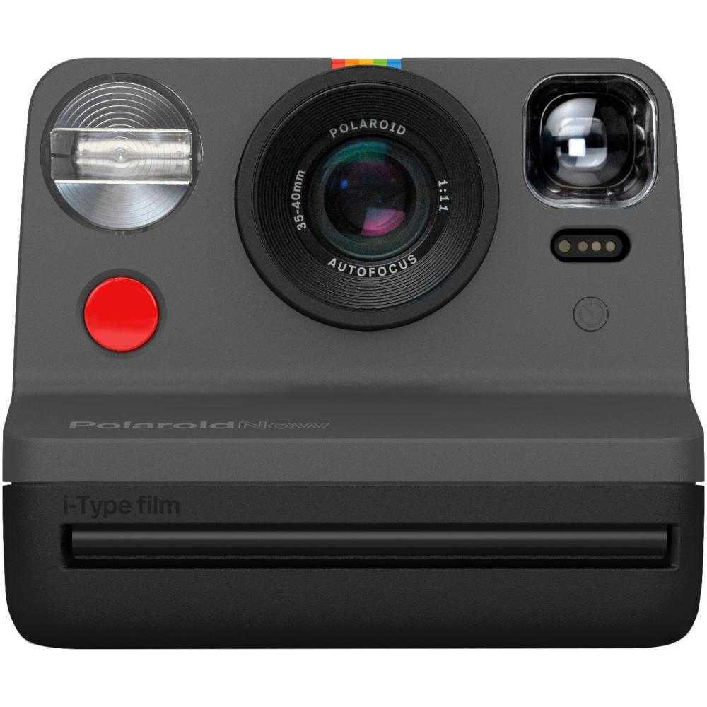 Camera Foto Instant Polaroid Now I-Type, Negru