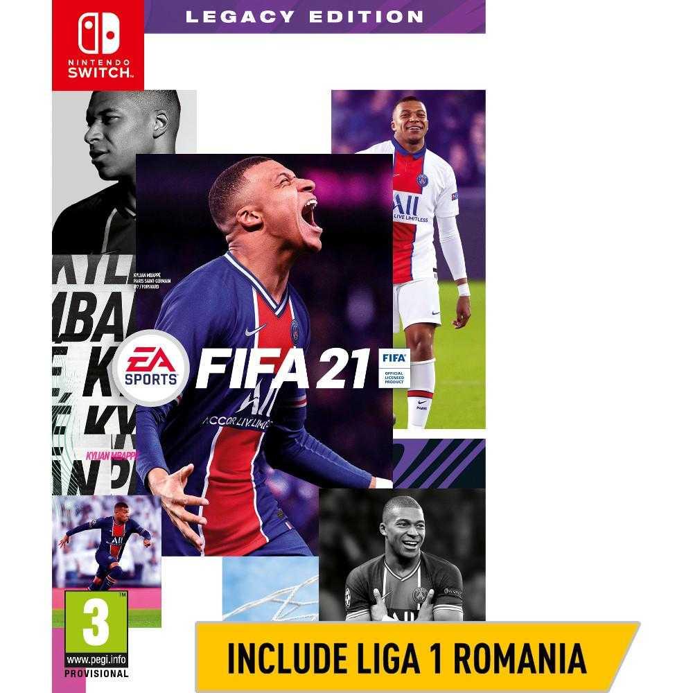 Joc Nintendo Switch Fifa 21 Legacy Edition