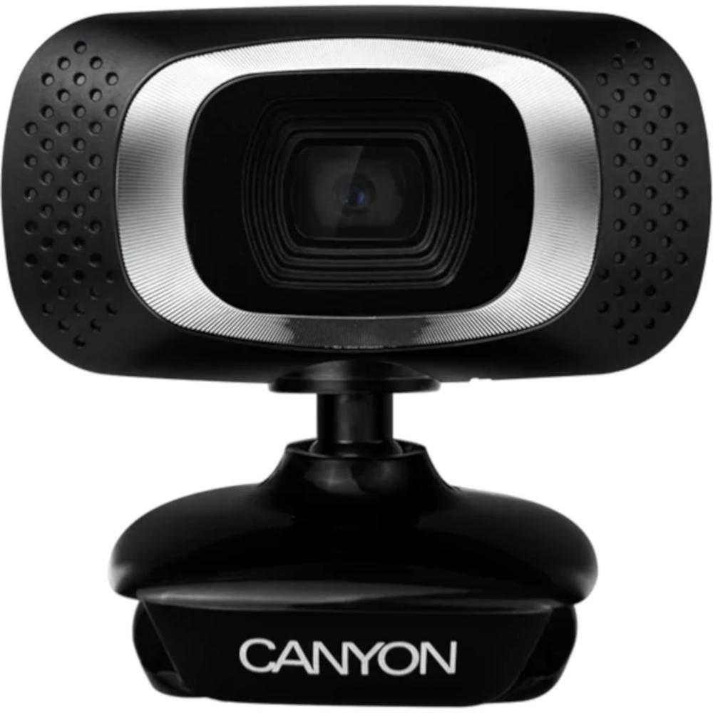 Camera Web Canyon CNE-CWC3N, HD, Negru