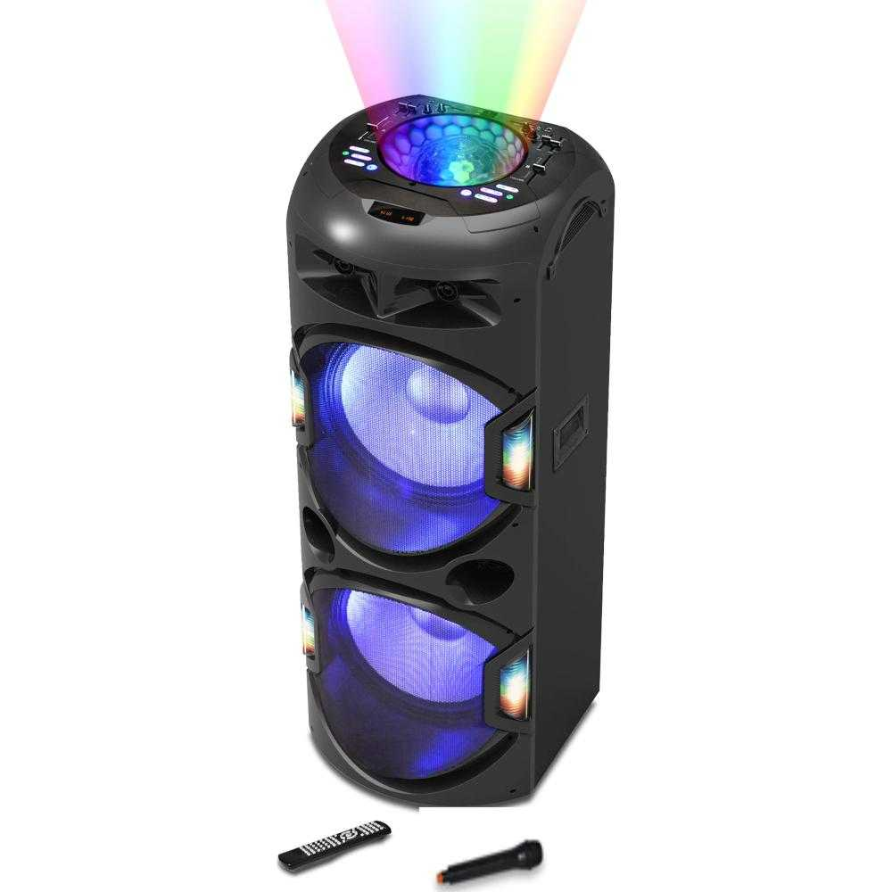 Boxa activa Akai DJ-Y5L Discoball, Bluetooth, 120W, Negru