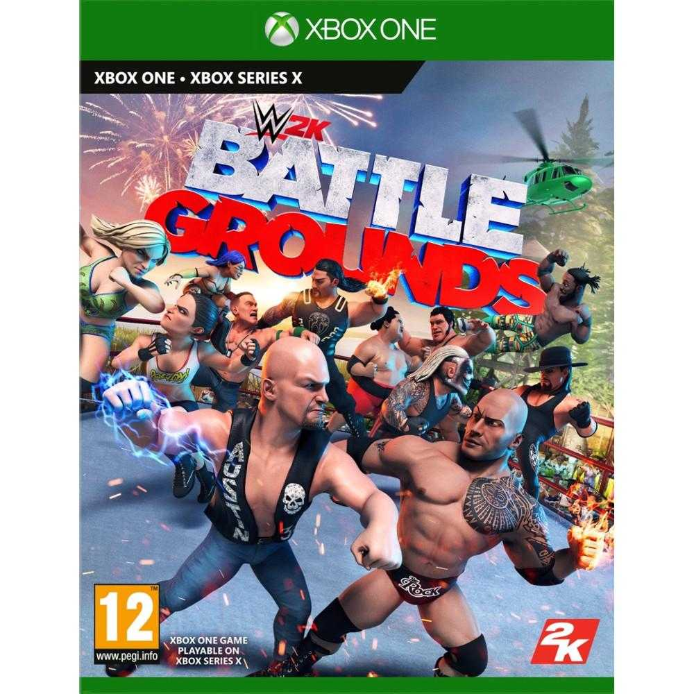 Joc Xbox One Wwe 2k Battlegrounds