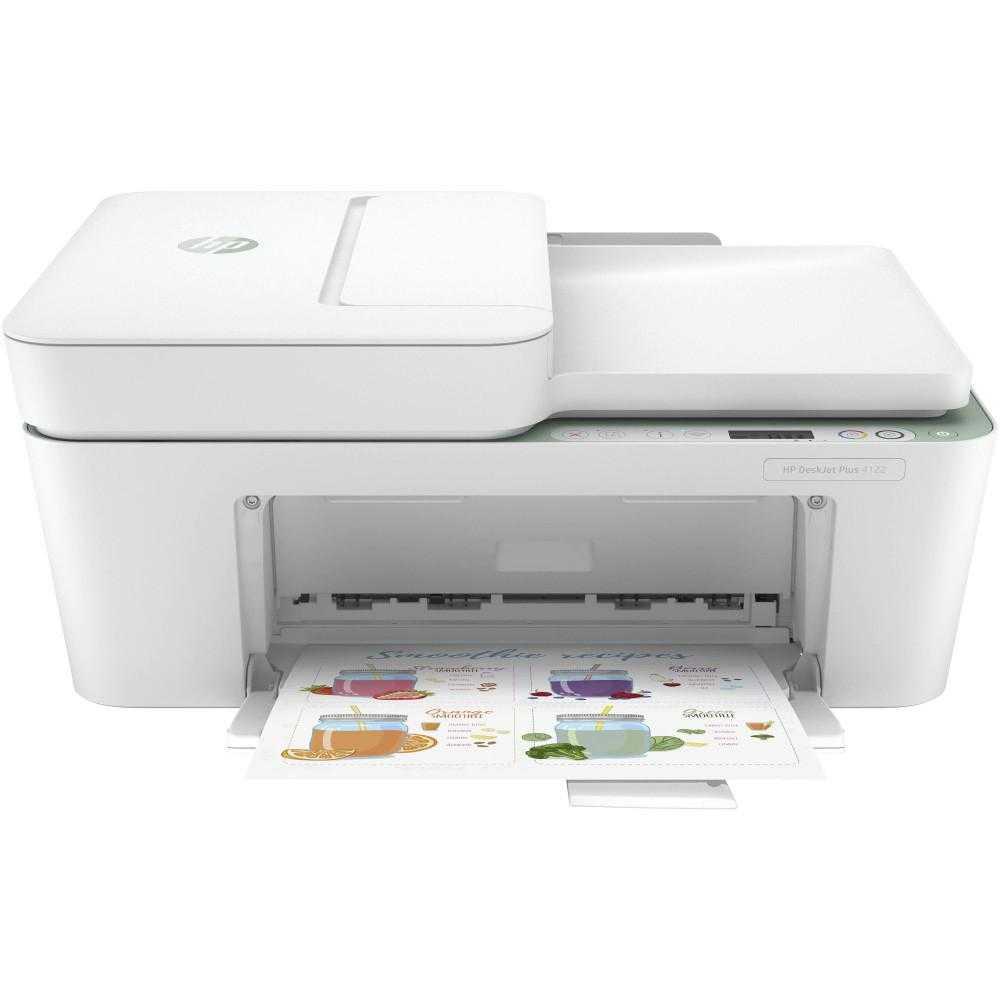 Multifunctional Inkjet Color Hp Deskjet Plus 4122 All-in-one, A4, Verde