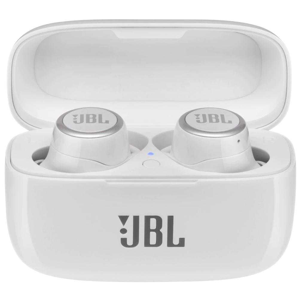 Casti True Wireless JBL Live 300TWS, Signature Sound, Bluetooth, Alb