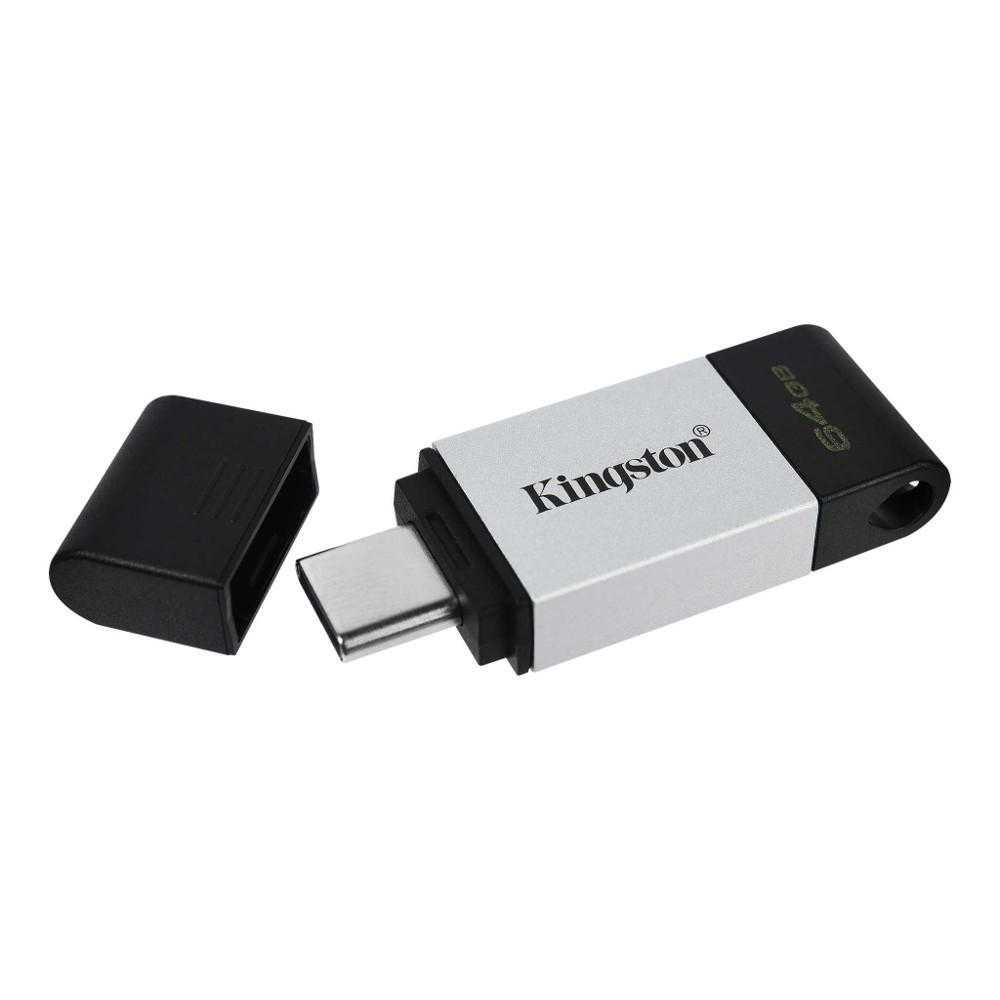 Memorie USB Kingston DataTraveler 80, 64GB, USB 3.2 Type C