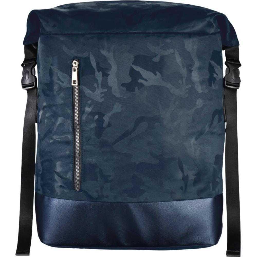 Rucsac Laptop Hama Mission Camo Roll-top, 15.6?, Albastru