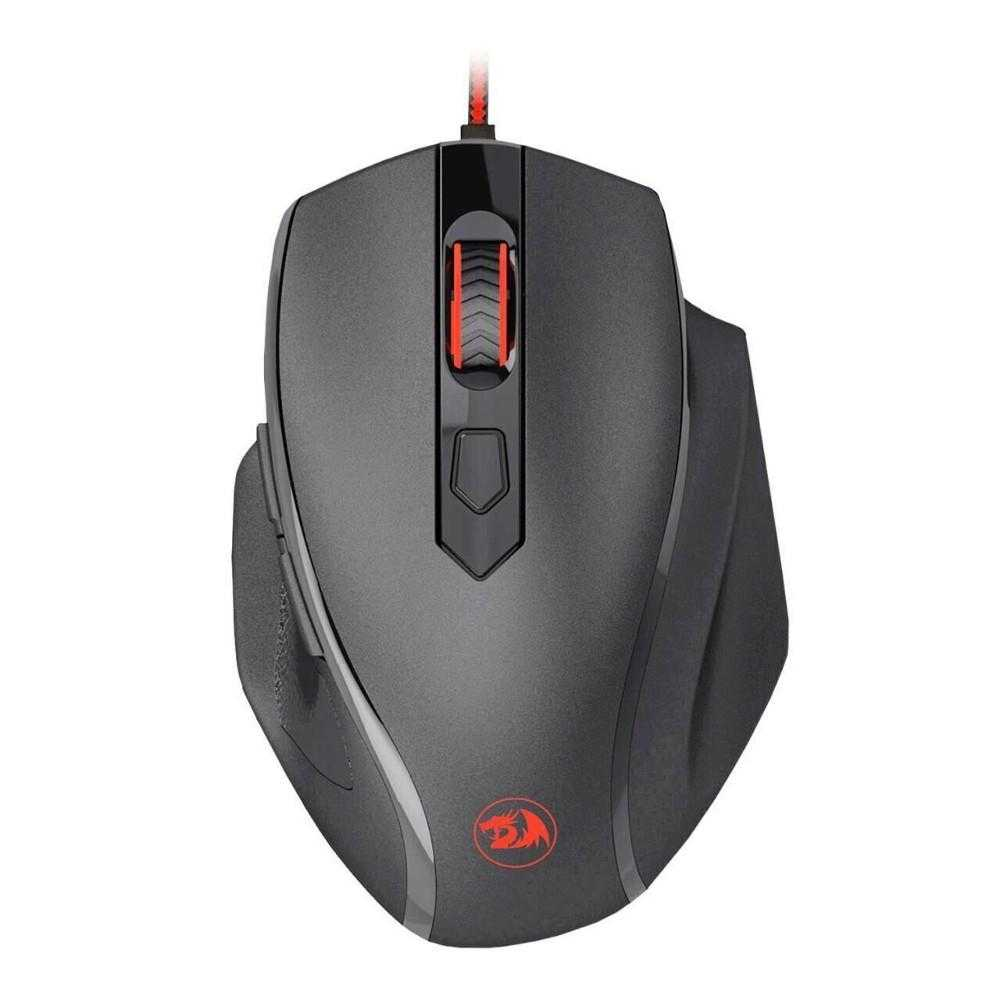 Mouse gaming Redragon Tiger2, Iluminare LED, Negru