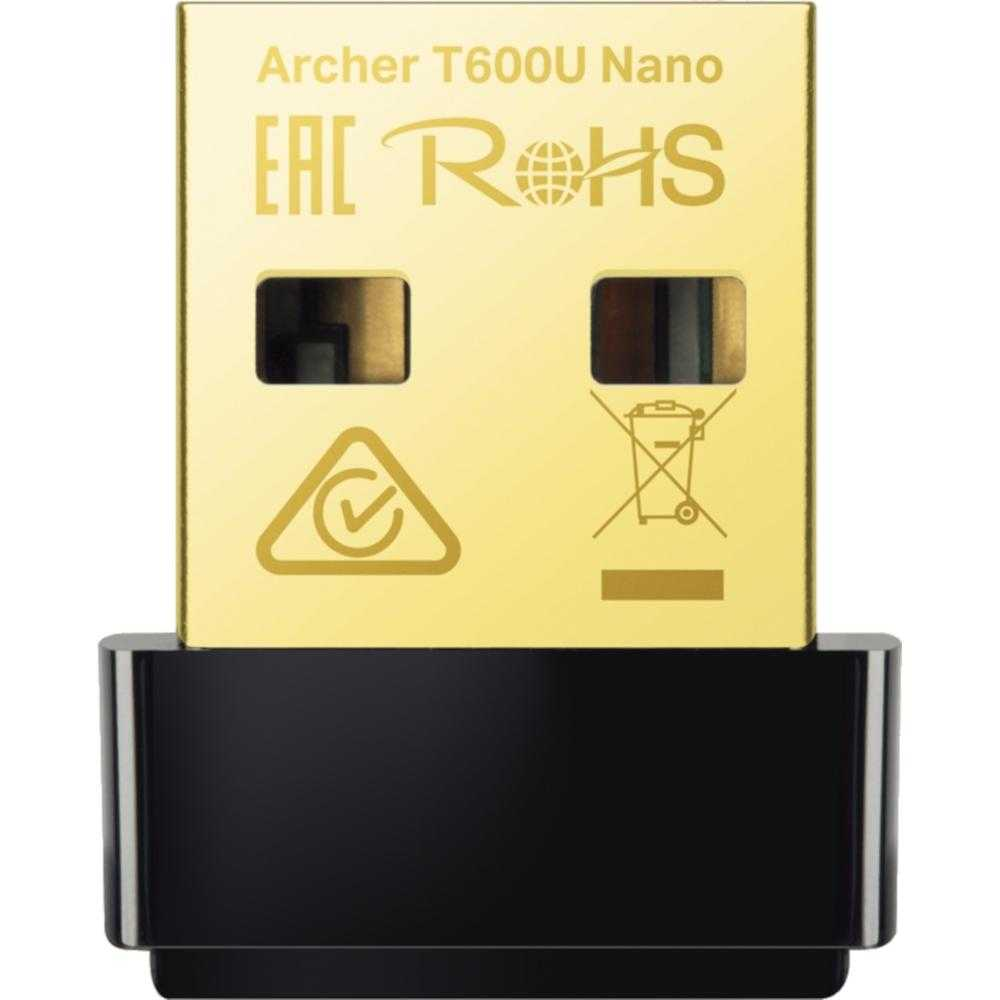 Adaptor wireless Archer T600U, Nano, AC600