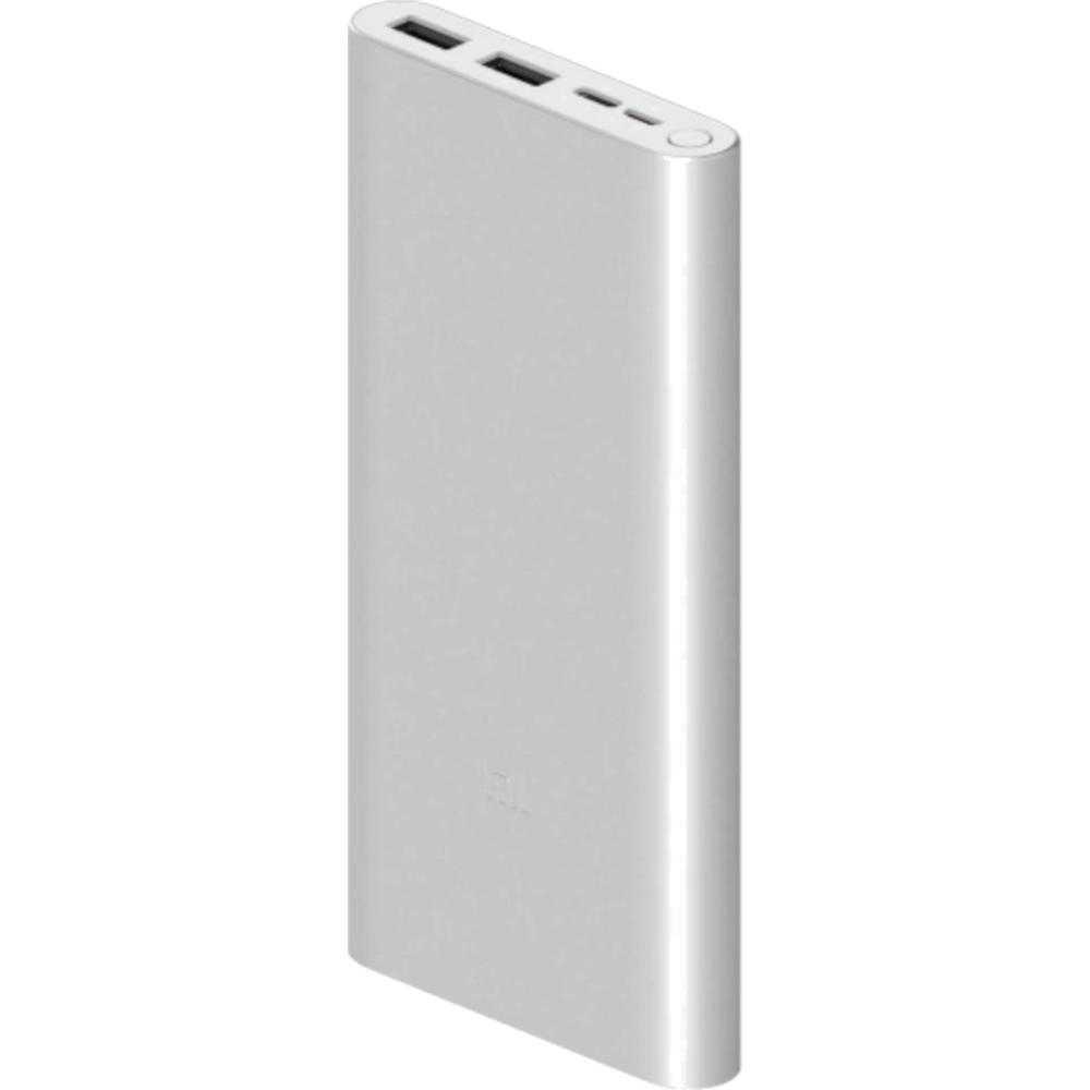 Acumulator Extern Xiaomi Mi Power Bank 3, 10000 Mah, Fast Charge, Argintiu