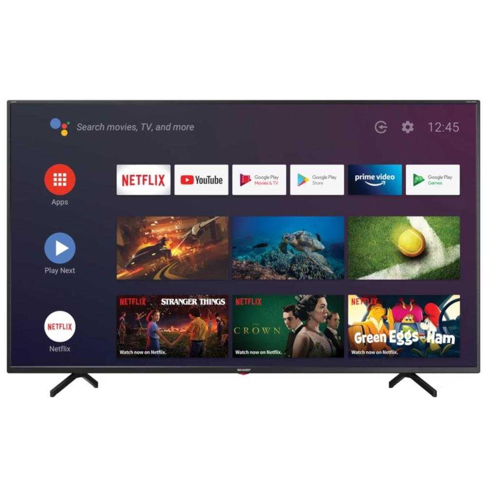 Televizor Smart Led, Sharp 65bn3ea, 164 Cm, Ultra Hd 4k, Android