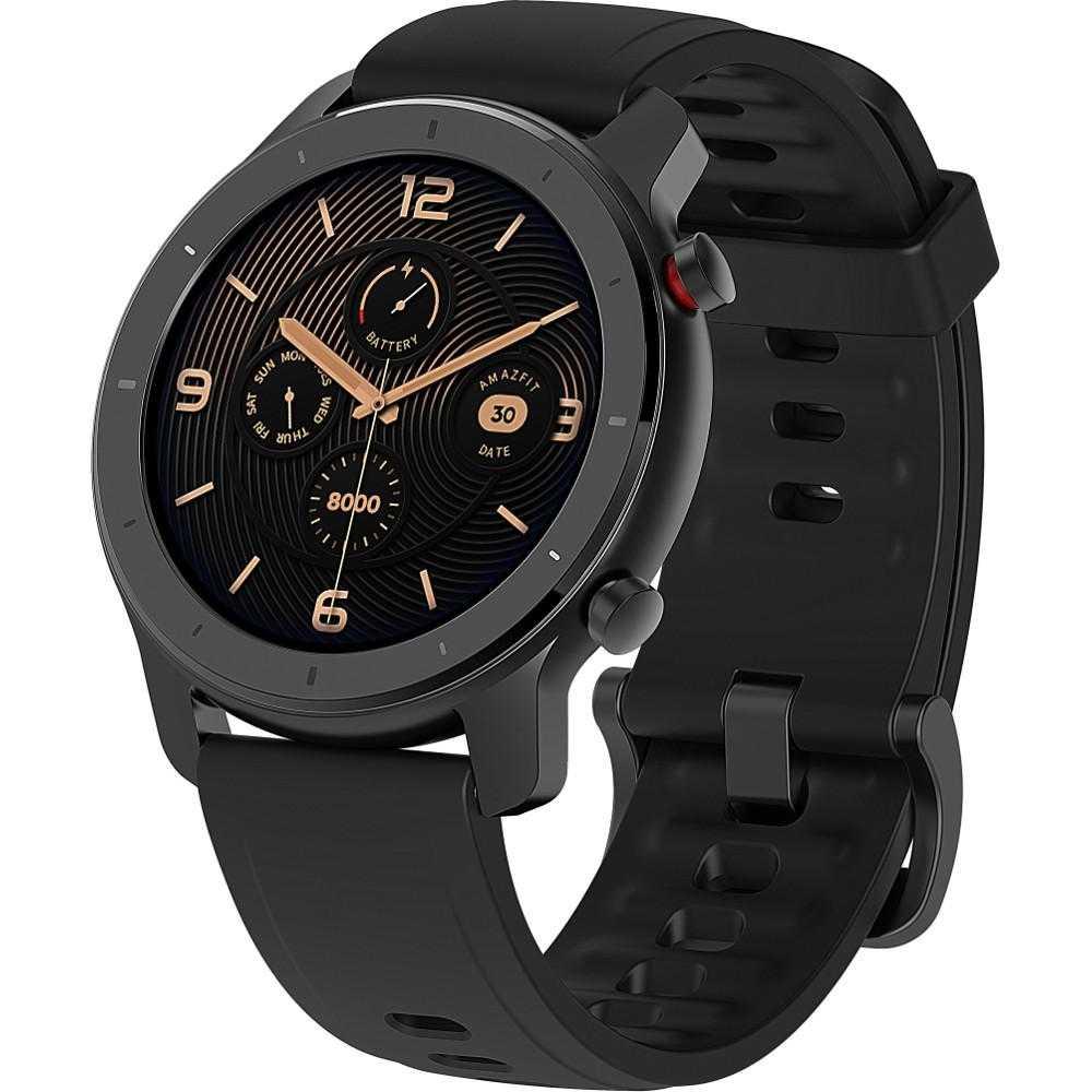 Smartwatch Amazfit GTR, 42 mm, Starry Black
