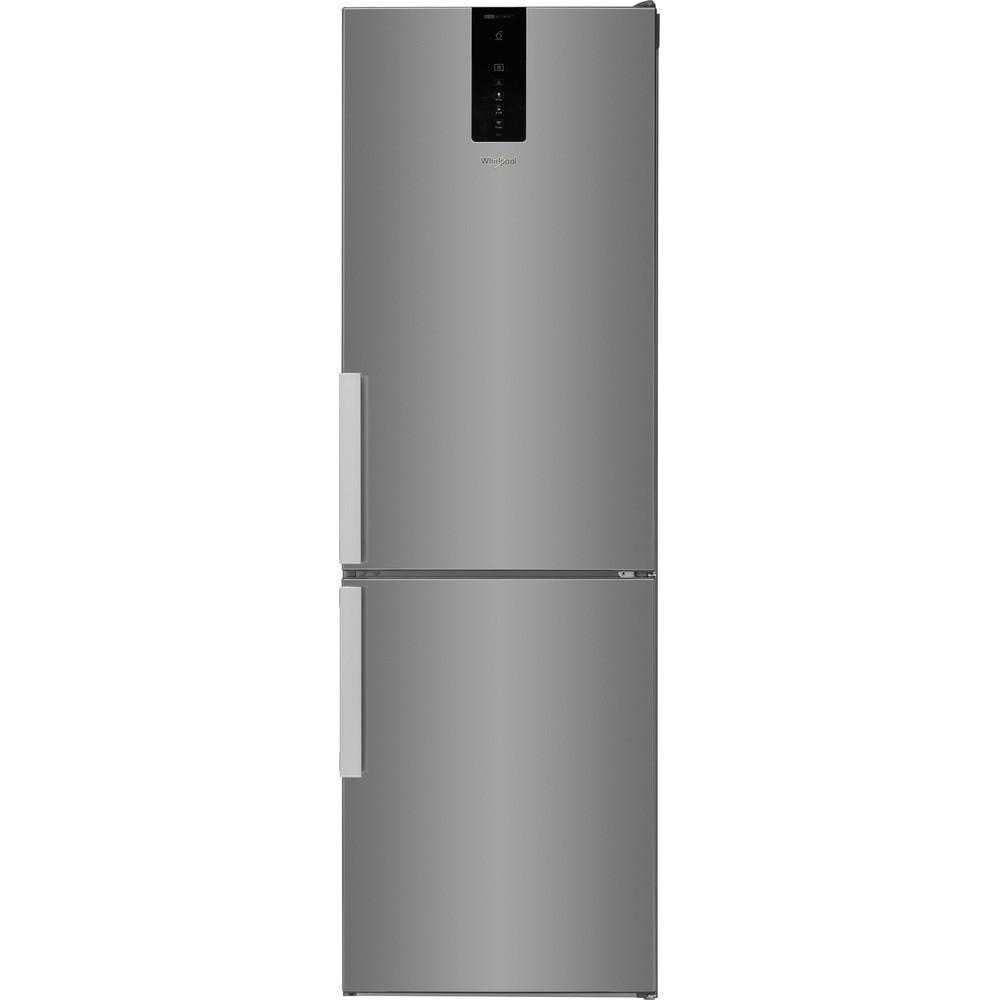 Combina frigorifica Whirlpool W9 821D OX H 2, Dual No Frost, 323 l, Clasa E, (clasificare energetica veche Clasa A++)