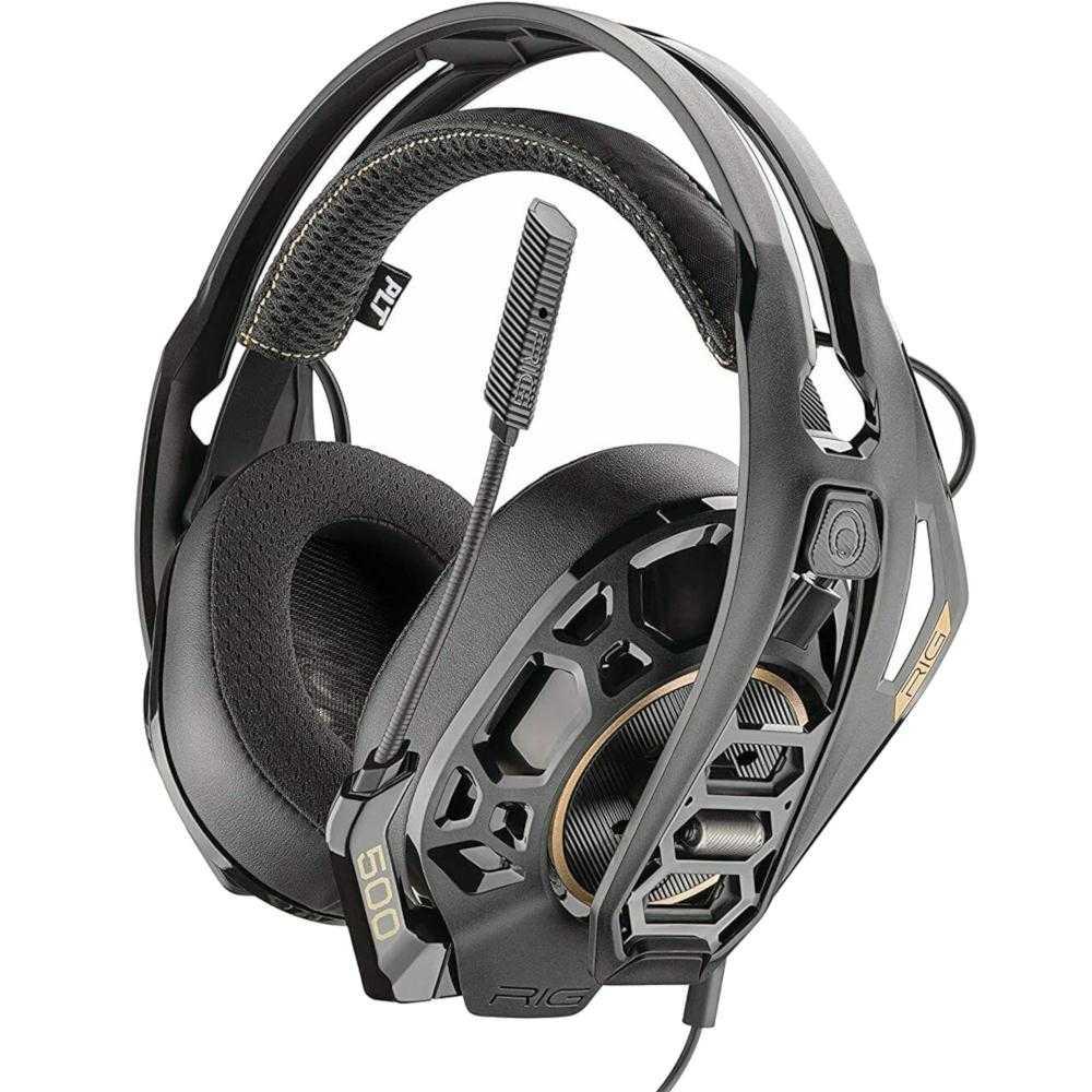 Casti Gaming Cu Microfon Nacon Rig 500 Pro Hc, Multiplatforma, Negru