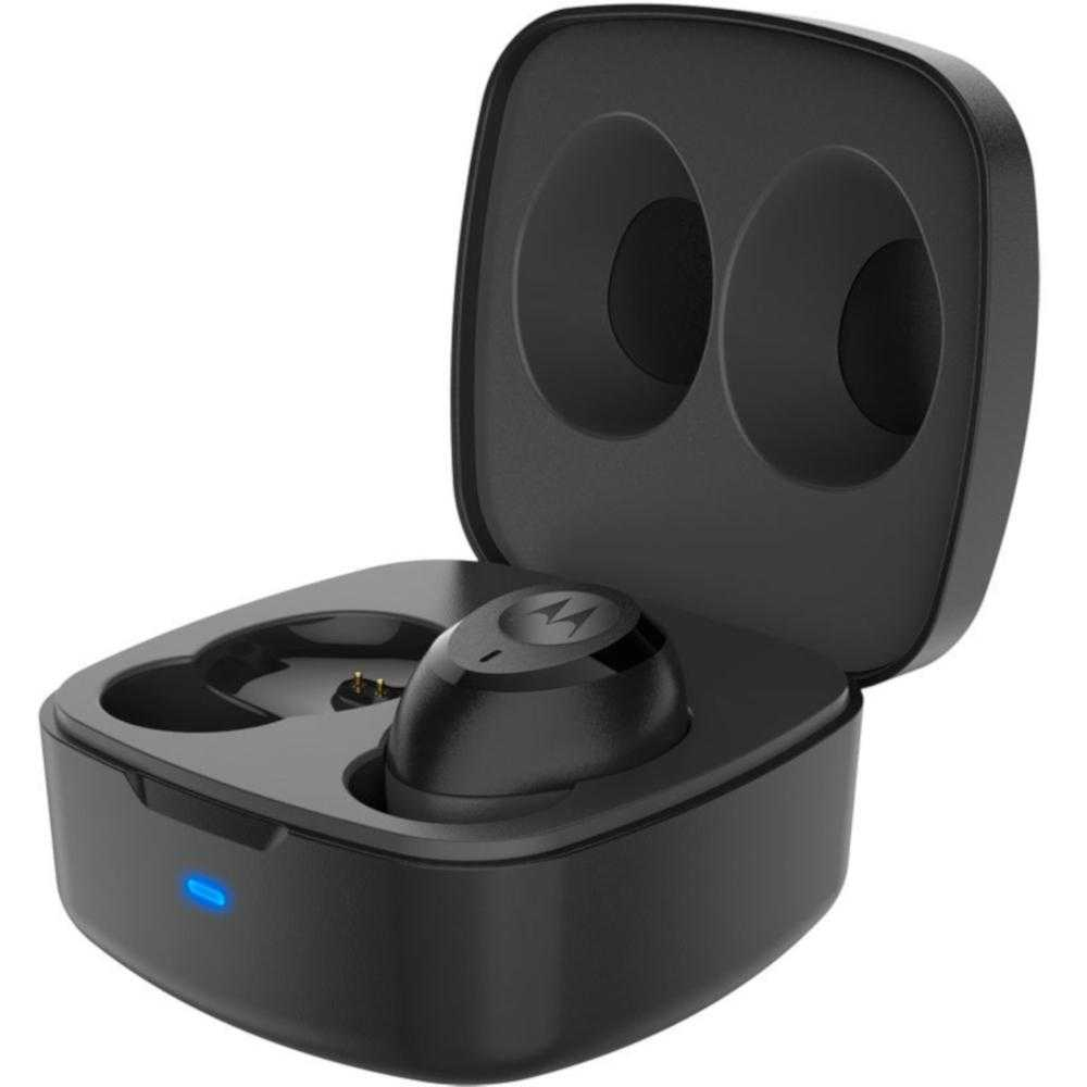 Casti True Wireless Motorola VerveBuds 100, Bluetooth, Negru