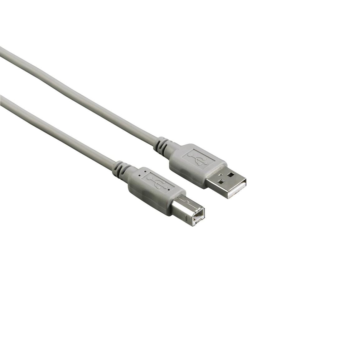 Cablu imprimanta USB 2.0 Tip A-B, 1.8 m