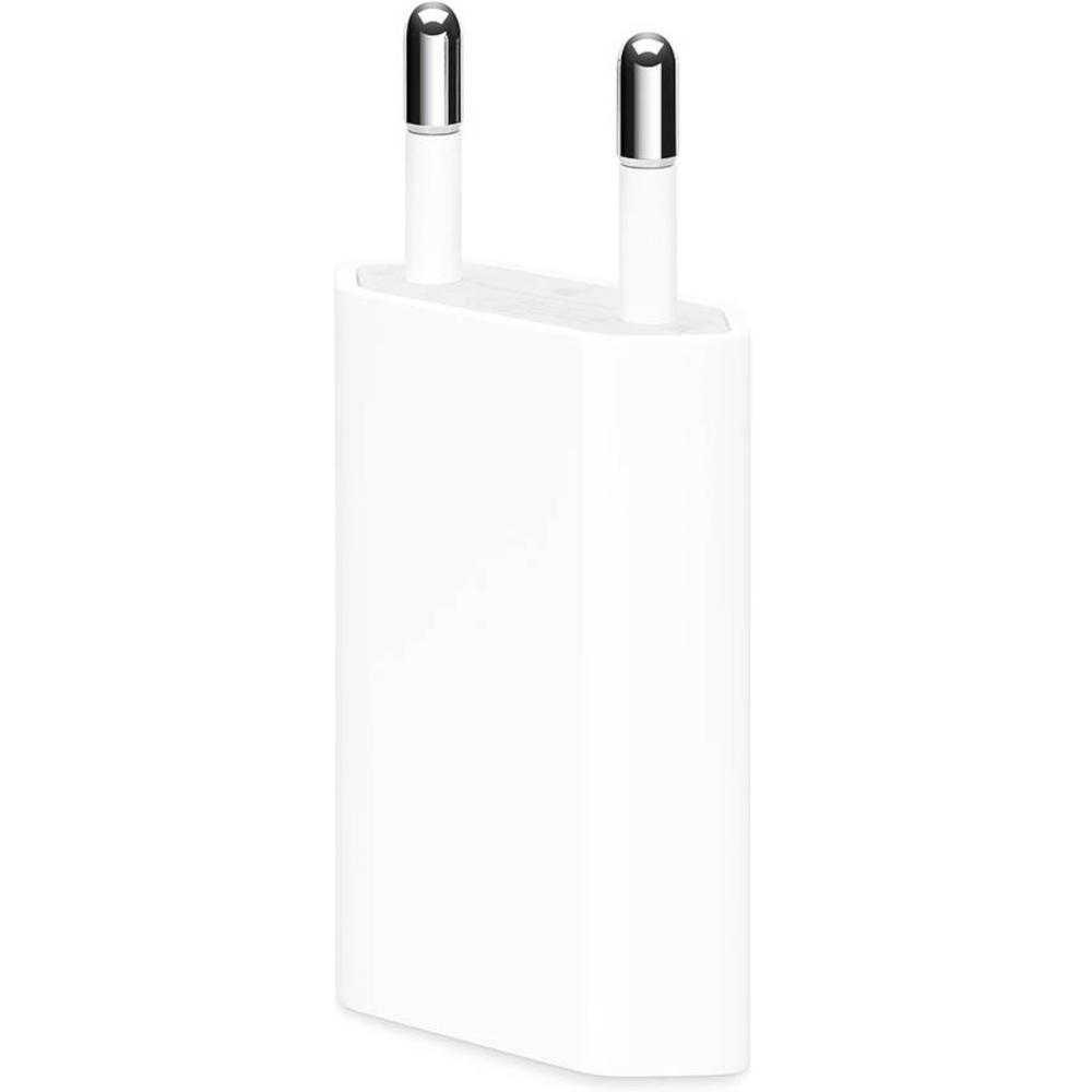 Incarcator Retea Apple 5w, Lightning Pentru Apple Iphone, Alb