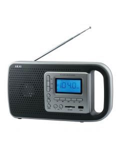 Radio Portabil cu acumulatori AKAI PR005A-420B, USB