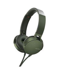 Casti audio On-Ear Sony MDRXB550APG.CE7, Microfon, Verde_1