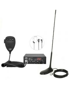 Kit Statie radio CB PNI Escort HP 8001 ASQ + Casti HS81 + Antena CB PNI Extra 45 cu magnet_001