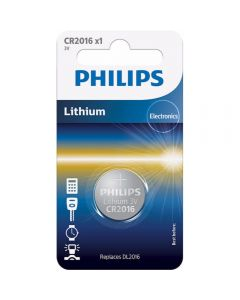 Baterie Philips CR2016, 3V, 1 buc_001