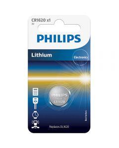 Baterie Philips Cr1620, 3V, Litiu, 1 buc_001