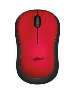 Mouse Logitech M220 Silent, Rosu_001