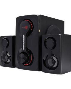 Sistem audio Serioux SoundRise 2.1, 60W, Bluetooth, Negru_2