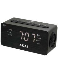 Ceas cu radio Akai ACR-2993, Alarma, Negru