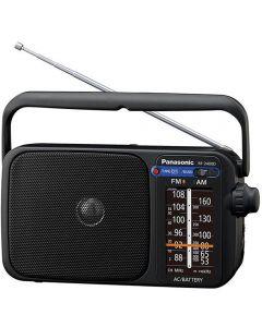 Radio portabil Panasonic RF-2400DEG-K, FM/AM, Negru_1