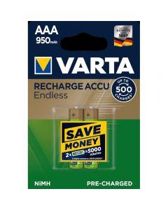 Acumulatori Varta Endless, AAA, 950 mAh, 2 buc_1