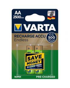 Acumulatori Varta Endless, AA, 2500 mAh, 2 buc_1