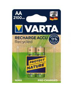 Acumulatori Varta Recycled, AA, 2100 mAh, 2 buc_1