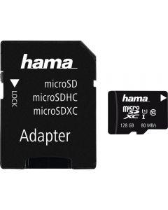 Card de memorie Hama 124158, microSDXC, 128GB, Clasa 10 _1
