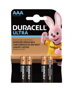 Baterii Duracell Basic AAA, 4 buc
