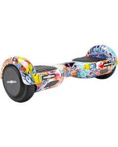 Scooter Electric FreeWheel Junior Lite Graffiti Albastru_1