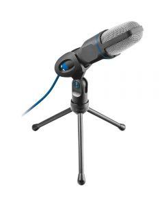 Microfon Trust Mico, USB, Tripod, Negru