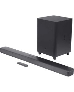 Soundbar JBL Bar 5.1, Deep Bass, 550W, MultiBeam, Wireless Subwoofer, Chromecast and Airplay 2, Dolby Digital 5.1, Negru_1