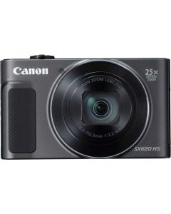 Aparat foto digital Canon SX620HS, 20.2MP, Negru + Card de memorie 16 GB + Husa_1