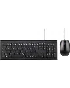Kit tastatura si mouse Hama Cortino, Negru_1