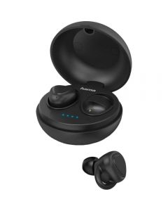 Casti True Wireless Hama LiberoBuds, Bluetooth, Negru